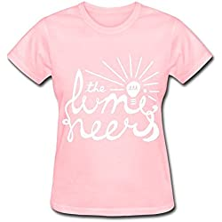The Lumineers Cleopatra Tour 2016 T Shirt For Women Pink XS