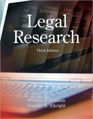 Book Legal Research by William H. Putman (2014-01-01)
