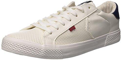 Platinum EU Sneaker Uomo navy 43 White Bianco Lth Carrera AfRwqxdA