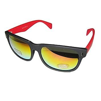 DP DESIGN® Gafas de sol Wayfarer Unisex con lentes de espejo ...