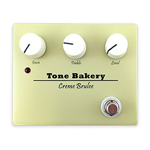 Creme Brulee Overdrive Tone Bakery Boost Pedal