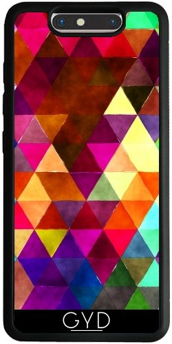 Funda Silicona para ZTE Blade V8 - Triángulos Retro 02 by Aloke Design