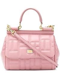 Women's BB6003AV3218H406 Pink Leather Handbag