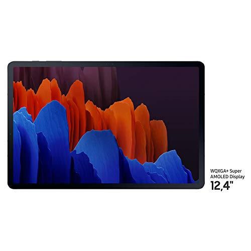 🥇 Samsung Galaxy Tab S7+ – Tablet Android WiFi de 12.4″ I 128 GB I S Pen Incluido I Color Negro [Versión española]