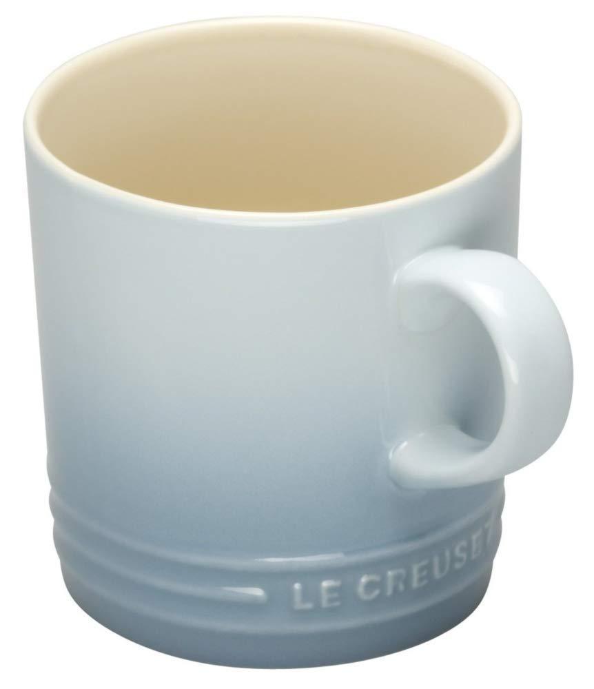 Le Creuset - Taza de gres, Espresso, 100 ml, color azul costal: Amazon.es: Hogar