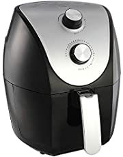 Sokany HB-8009 Air Fryer with Nonstick Pan for Frying, 4.8 Liters - Black and Grey