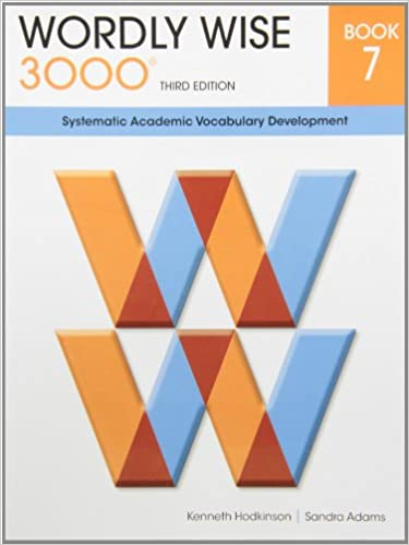amazon com wordly wise 3000 book 7 systematic academic vocalulary