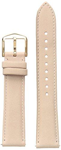 Beige Strap Watch - Fossil Women's S181361 STRAP BAR - LADIES Analog Display Beige Watch