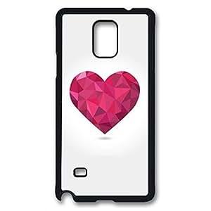 iCustomonline Love Flexible Slim Case Cover For Apple Samsung Galaxy Note 4