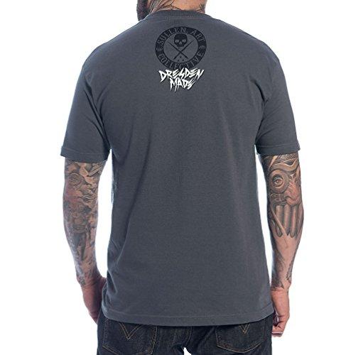 Herren T-Shirt SULLEN - Dresden Made - Gry
