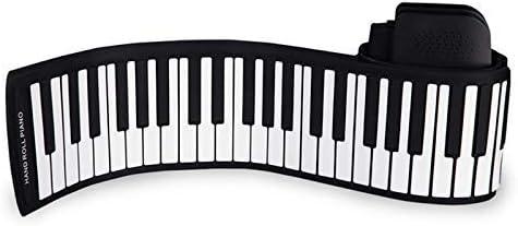 ZXL Piano Portátil Enrollable de 88 Teclas, Piano Plegable ...