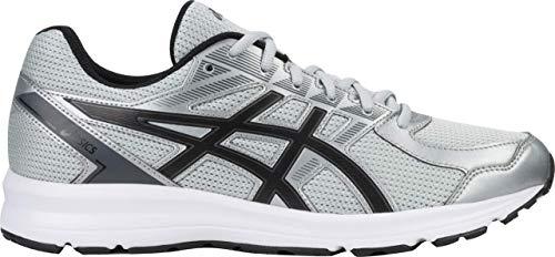 (ASICS Jolt Men's Running Shoe, Glacier Grey/Black/Carbon, 10 XW US)