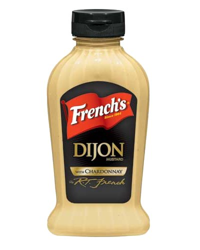 French's Dijon Mustard with Chardonnay: 12 OZ Squeeze ()