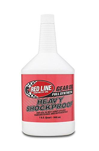 Red Line 58204 Heavy ShockProof Gear Oil - 1 Quart Bottle - Gear Oil Viscosity