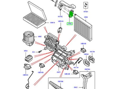 LAND ROVER A//C EXPANSION VALVE RANGE ROVER SPORT 05-13 LR3 LR4 NEW JQD500010