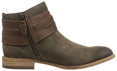 CLARKS womens Maypearl Edie Olive Suede/Leather 05w8X0i