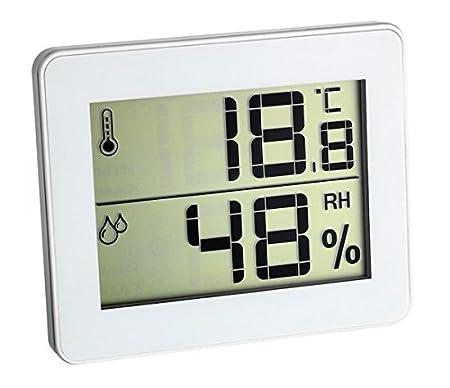 TFA-Dostmann - Termometro igrometro ultra piatto, colore: Blu TFA Dostmann