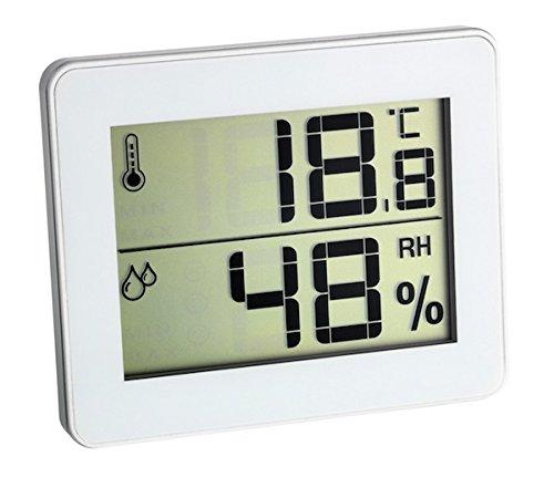 Thermometer Hygrometer Ultra-Flat Blue TFA