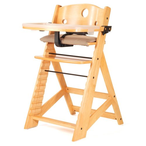 Height Natural Right (Keekaroo Height Right High Chair with Tray Finish: Natural)