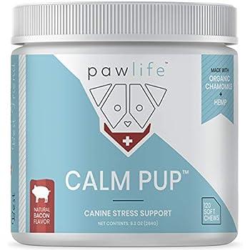 Amazon com : pawlife Calming Treats for Dogs Plus Glucosamine - Hemp