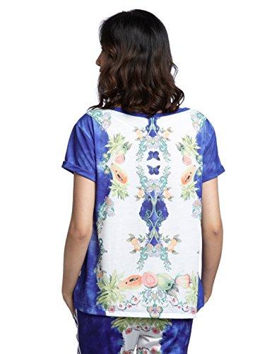 Camiseta adidas �?Indigo Multicolor Weiß