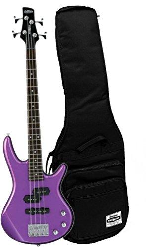 Ibanez GIO GSRM20MPL Metallic Purple 28.6'' Scale 4 String Bass Guitar w/ Gig Bag by Ibanez