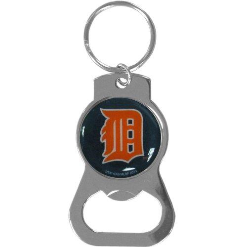 MLB Detroit Tigers Bottle Opener Key Chain (Bottle Tigers Opener Keychain)