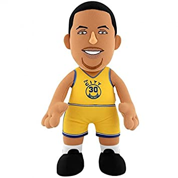 NBA Stephen Curry Golden State Warriors - Muñeco, multicolor