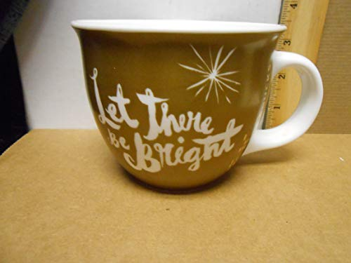 Starbucks Holiday Deluxe Collector Coffee Mug Gold Starburst (Star Bright) Deluxe Starbucks Coffee Gift