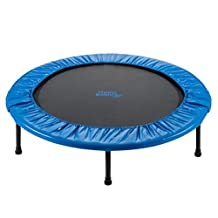 Upper Bounce Two-Way Foldable Rebounder Trampoline with Carry-on Bag