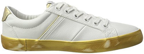Mirrow Femme Clinton Basses Gold Sneakers Pepe Jeans Or PWOZCqE