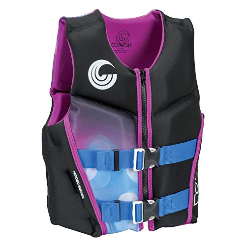 CWB Connelly Classic Youth Girl's Neoprene Life Vest, 50-90 lbs