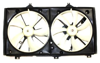 TYC 622200 Toyota Camry Replacement Radiator/Condenser Cooling Fan Assembly