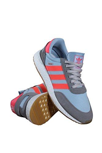 Adidas Uomo Iniki Runner Grigio Antracite Solido Grigio Turbo Gum Chsogr Turbo Gum
