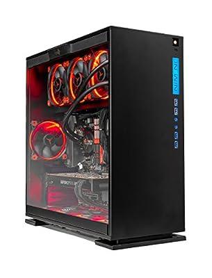 SkyTech [RTX 2080 TI] Legacy – VR Ready Gaming Computer PC Desktop – Ryzen 7 2700X, 500GB Samsung 970 Evo NVMe SSD, RTX 2080 Ti 11GB, 360mm Liquid Cool, 2TB HDD, 16GB DDR4, Window 10 Pro