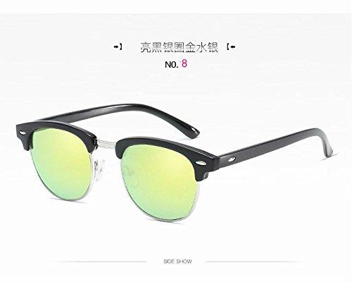 Gafas Las De Sol C10 De De La c8 Montura Sol Gafas De Personalidad Hombre Xue zhenghao Media EwA544