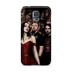 InesWeldon Samsung Galaxy S5 Comfortable Phone Hard Covers Customized Stylish Battlelore Band Pattern [AGx7447Ycbn]