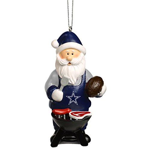 Santa Grill Ornament