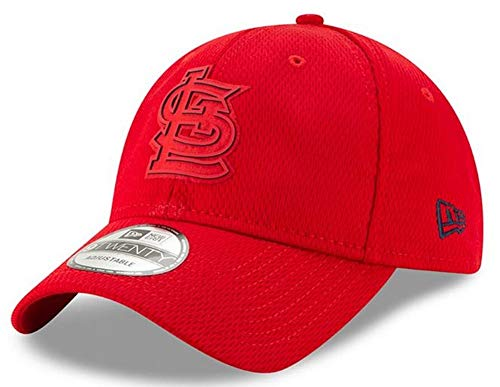 - New Era St. Louis Cardinals 2019 Clubhouse Collection Adjustable Hat/Cap