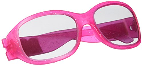 Freaky Fab Monster High Birthday Party Glitter Sunglasses Accessory Favour (1 Piece), Hot Pink, 5 1/4