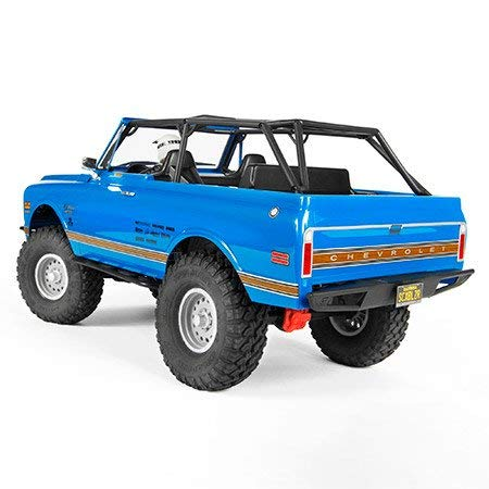 Axial SCX10 II '69 Chevrolet Blazer 4WD RTR RC Rock Crawler Off-Road 4x4, 1/10 Scale (Blue) (Axial Scx10 Deadbolt Rtr 4wd Electric Rock Crawler)