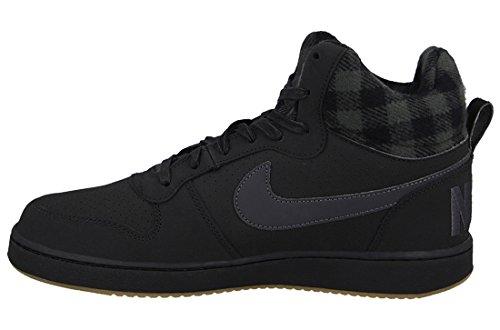 NIKE Mens Court Borough Mid Sneaker Black/Gum Light Brown/Anthracite Lf0rJ