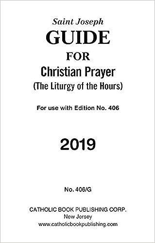 Saint Joseph Guide for Christian Prayer: The Liturgy of the Hours