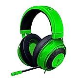 Razer Kraken Gaming Headset: Lightweight Aluminum Frame - Retractable Cardioid Mic - for PC, Xbox, PS4, Nintendo Switch - 3.5 mm Headphone Jack - Green