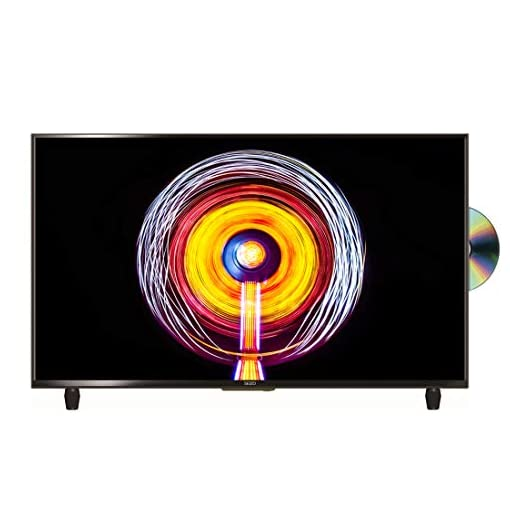 SEIZO 32 inch HD Ready LED TV DVD Combi with Freeview – Black (2019 model) [Energy Class A]