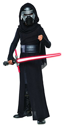 Old Movie Character Costumes (Star Wars: The Force Awakens Child's Deluxe Kylo Ren Costume, Medium)
