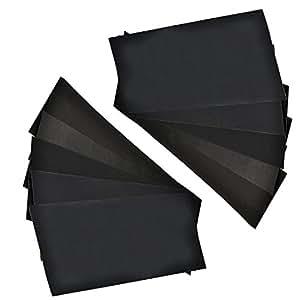 "1000 Grit Abrasive Dry Wet Waterproof Sandpaper Abrasive Sheets Polishing Sand Paper 10pcs 9"" x 11"""