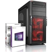 Ultra 6-Core DirectX 12 PC Gamer - Unité centrale Gaming FX 6300 6x4.10 GHz Turbo - GeForce GTX 1050 DDR5- Mémoire RAM 8Go DDR3 1600 - Stockage 2000Go HDD - Windows 10 Pro - Lecteur/Graveur DVDRW #5321