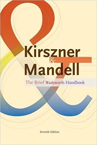 The brief wadsworth handbook laurie g kirszner stephen r the brief wadsworth handbook 7th edition fandeluxe Images