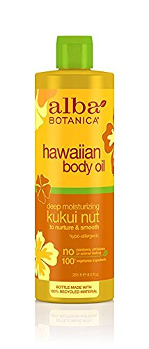 Price comparison product image Alba Botanica Hawaiian, Kukui Nut Body Oil, 8.5 Ounce